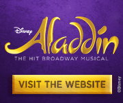 ALADDIN - Broadway's New Musical Comedy!
